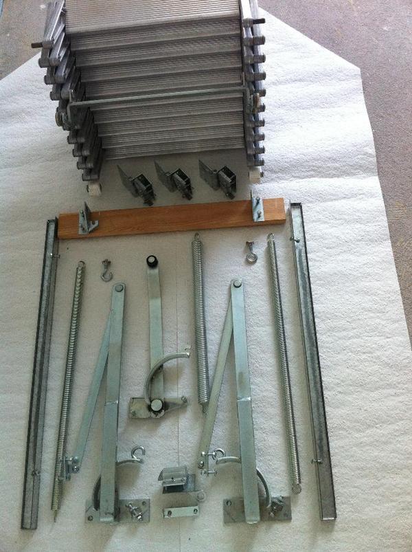 scheren treppe von henke in ammerbuch ger te maschinen. Black Bedroom Furniture Sets. Home Design Ideas