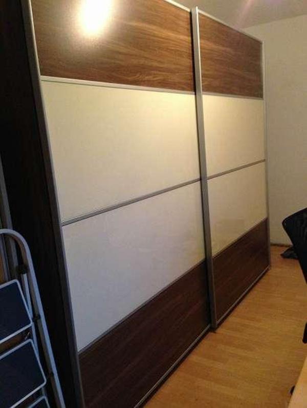 schiebet renschrank mit lieferung schr nke sonstige schlafzimmerm bel. Black Bedroom Furniture Sets. Home Design Ideas