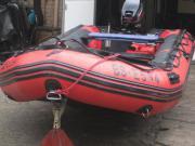 Schlauchboot Quicksilver mit