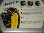 Schneekette, Ringkette, Reifengröße