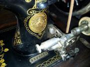 Schöne alte Pfaffnähmaschine