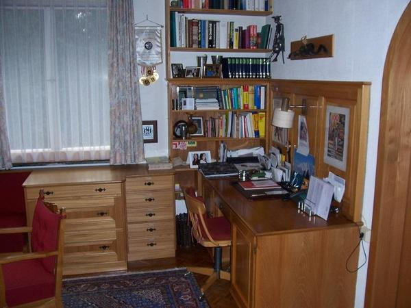 sch ner eichenholz schreibtisch in feldkirch stilm bel bauernm bel kaufen und verkaufen ber. Black Bedroom Furniture Sets. Home Design Ideas