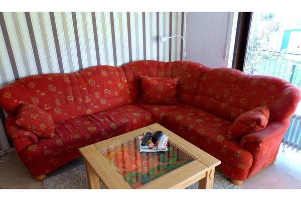sch nes landhausstil ecksofa wegen umzug abzugeben in. Black Bedroom Furniture Sets. Home Design Ideas