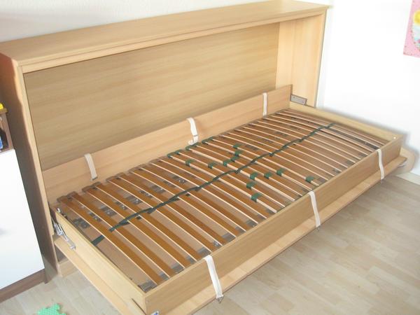 schrankbett klappbett 90x200 in n rtingen betten kaufen. Black Bedroom Furniture Sets. Home Design Ideas