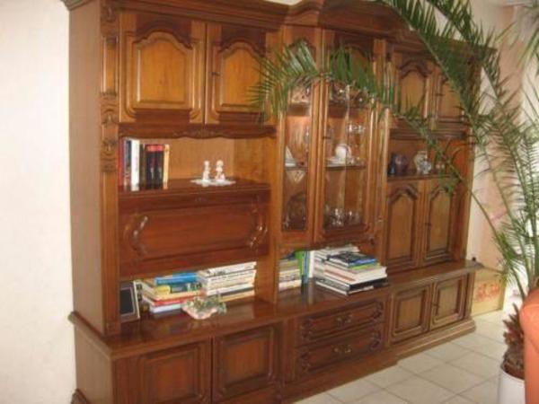 schrankwand nussbaum neu und gebraucht kaufen bei. Black Bedroom Furniture Sets. Home Design Ideas