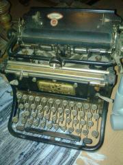 Schreibmaschine von Continental -