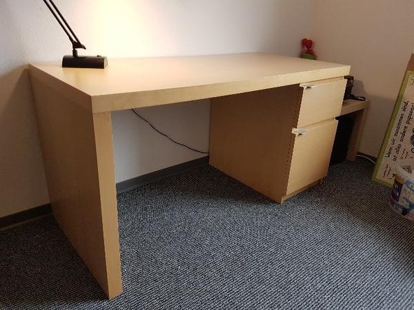 schreibtisch birke neu und gebraucht kaufen bei. Black Bedroom Furniture Sets. Home Design Ideas