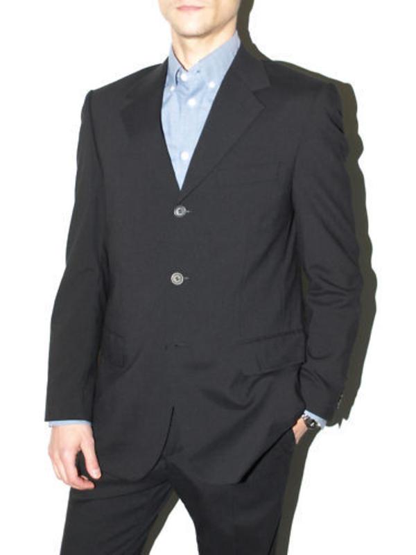 schwarzer anzug in topzustand ideal f r konfirmation abschlussball in herrenberg. Black Bedroom Furniture Sets. Home Design Ideas