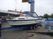 Schwedisches Folkparca Kajütboot