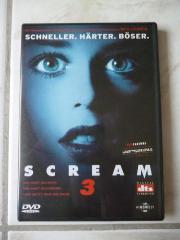 Scream 3, DVD,