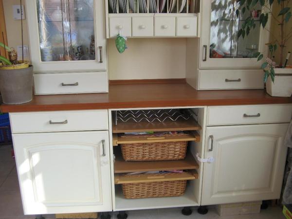 Sehr schone kuchenvitrine zu verkaufen in hatten for Ikea küchenvitrine