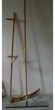 Sense+großer Holzrechen -