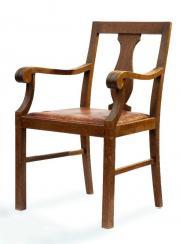 antiker armlehnen thron stuhl des historismus in m nchen. Black Bedroom Furniture Sets. Home Design Ideas
