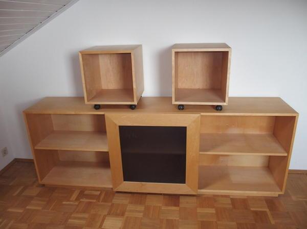 sideboard kinderzimmer mit verschiebbarem tafeleinsatz in karlsbad kinder jugendzimmer. Black Bedroom Furniture Sets. Home Design Ideas