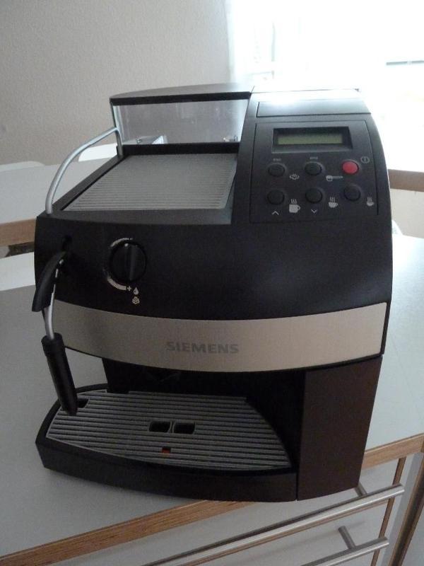 siemens kaffeemaschine vollautomat in schlierbach kaffee espressomaschinen kaufen und. Black Bedroom Furniture Sets. Home Design Ideas