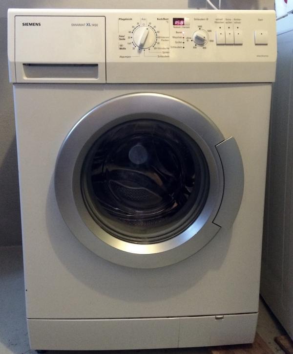 siemens siwamat xl 1450 waschmaschine in gutem zustand in. Black Bedroom Furniture Sets. Home Design Ideas