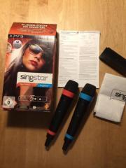 SINGSTAR PS3 Mikrofone &
