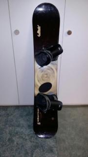 Snowboard und Skowboardschuhe