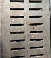 Spaltenboden - kaum benutzt