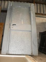 Stahl-Türen Baustellen-