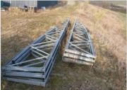 Stahlhallenkonstruktion