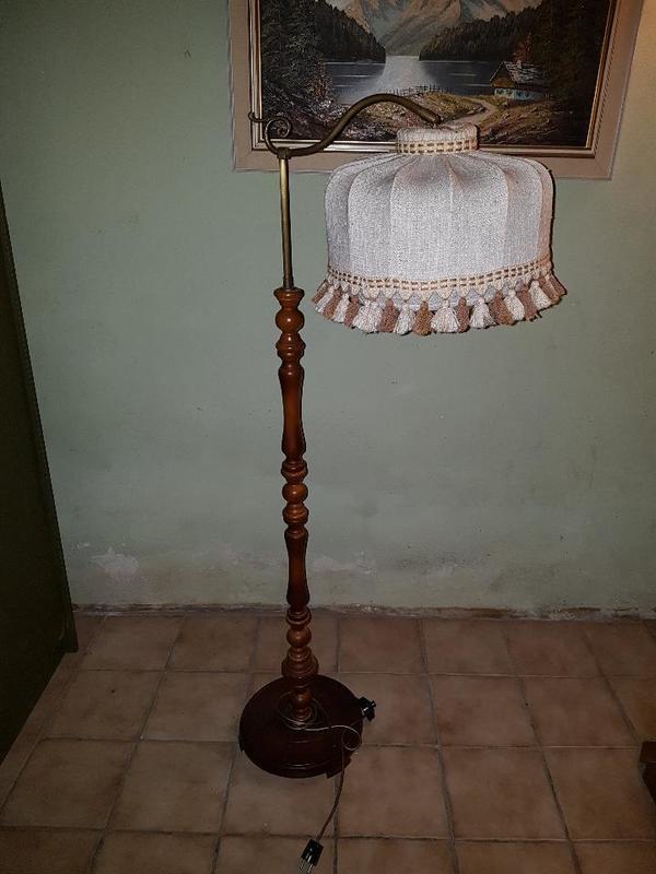 stehlampe holz - gebraucht und neu kleinanzeigen stehlampe holz,