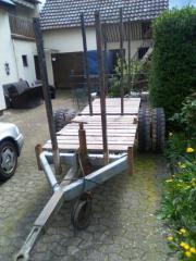 Sterholzanhänger zu verkaufen