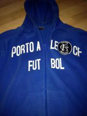Sweat Jacke Hoodie Gr L Blau ( Porto Alegre Futbol) Verkaufe eine blaue Sweat Jacke ( Hoodie) in der Größe L. Aufdruck Porto Alegre Futbol auf der Front. Rückennummer 23 Reissverschluss, 2 seitliche ... 10,- D-73257Köngen Heute, 08:21 Uhr, Köngen - Sweat Jacke Hoodie Gr L Blau ( Porto Alegre Futbol) Verkaufe eine blaue Sweat Jacke ( Hoodie) in der Größe L. Aufdruck Porto Alegre Futbol auf der Front. Rückennummer 23 Reissverschluss, 2 seitliche