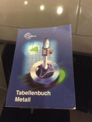 Tabellenbuch Metall-Europa