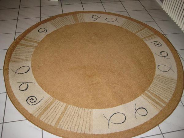 teppich rund kaufen gebraucht und g nstig. Black Bedroom Furniture Sets. Home Design Ideas