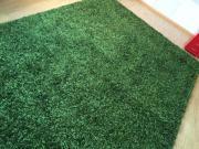 Teppich Shaggy grün