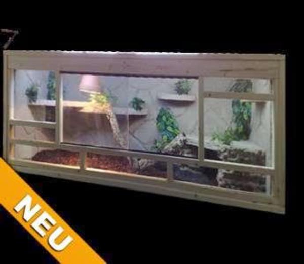 terrarium 150x60x80 l t h mit felswandoptik in wetzlar. Black Bedroom Furniture Sets. Home Design Ideas