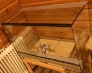 Terrarium mit Schiebetüren