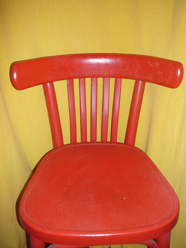thonet stuhl k chenstuhl holz holzstuhl rot in weinheim sonstige. Black Bedroom Furniture Sets. Home Design Ideas