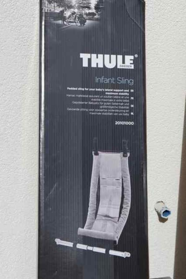 thule chariot babysitz fahrradanh nger infant sling. Black Bedroom Furniture Sets. Home Design Ideas
