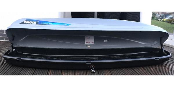 thule ocean 500 dachbox sehr guter zustand in g rtringen. Black Bedroom Furniture Sets. Home Design Ideas