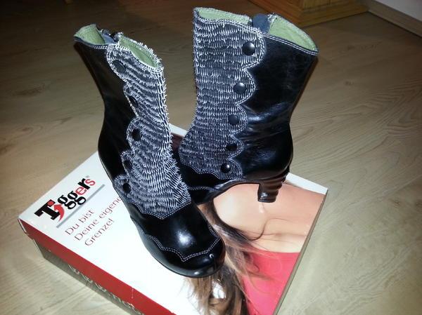 tiggers stiefel extravagant neu ungetragen in greiz schuhe stiefel kaufen und verkaufen. Black Bedroom Furniture Sets. Home Design Ideas