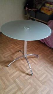 Tisch Glas rund