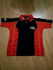Tischtennis-Shirt schwarz-
