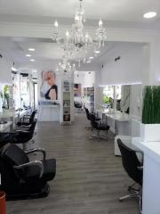 Top moderner Friseursalon