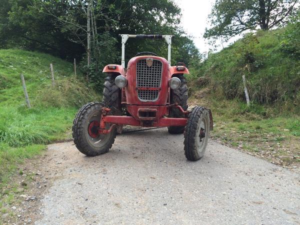 traktor g ldner g25 schlepper nutzfahrzeug in zell. Black Bedroom Furniture Sets. Home Design Ideas