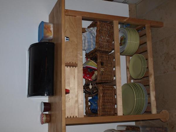 Ikea Tarva Nightstand Assembly ~ VERSAND Küchen Rollwagen Ikea mit Schuhkästen Servierwagen Anrichte