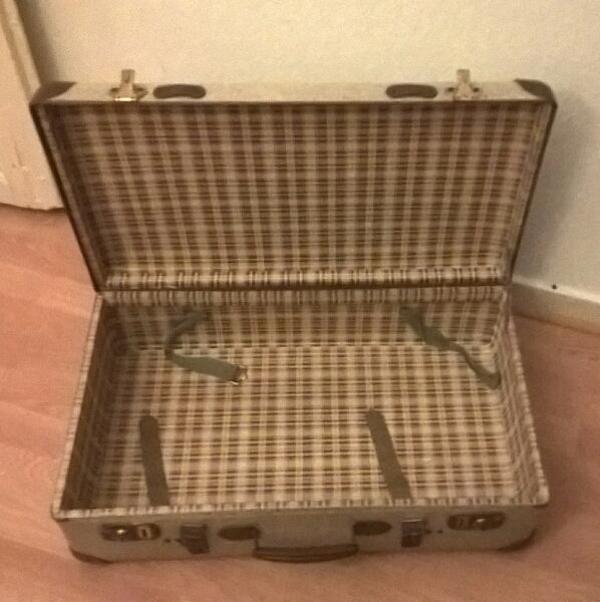 vintage koffer gebraucht kaufen nur 3 st bis 75 g nstiger. Black Bedroom Furniture Sets. Home Design Ideas