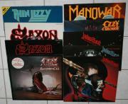 Vinyl Schallplattensammlung, Heavy,