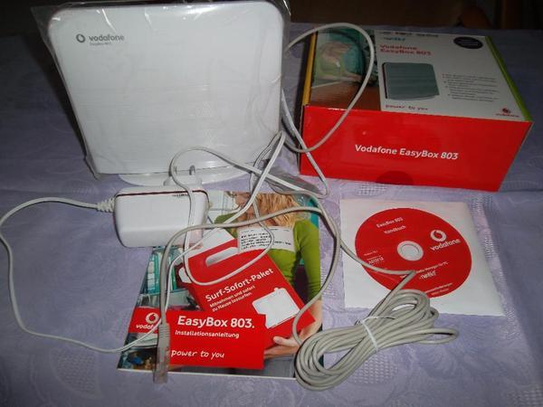 vodafone easybox 803 dsl router in altrip df modems isdn dsl kaufen und verkaufen ber. Black Bedroom Furniture Sets. Home Design Ideas