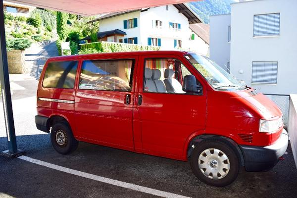 vw t4 campingbus in feldkirch vw bus multivan. Black Bedroom Furniture Sets. Home Design Ideas