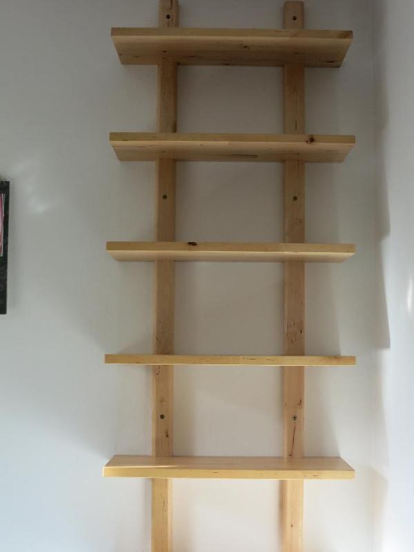 wandregal holz kaufen gebraucht und g nstig. Black Bedroom Furniture Sets. Home Design Ideas