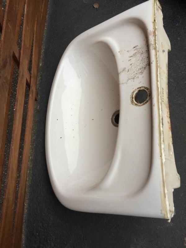 kleine waschbecken  neu und gebraucht kaufen bei dhd24com ~ Waschbecken Riss
