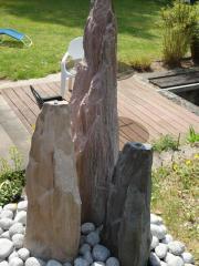 Wasserspiel Obelisken