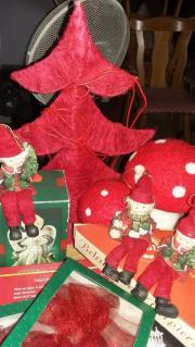 Weihnachtsdeko in diversen